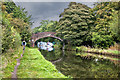 SJ6586 : The Bridgewater Canal - Pickerings Bridge by Ian Greig