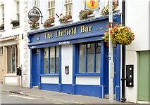 """J2664 : """"The Linfield Bar"""", Lisburn (September 2014) by Albert Bridge"""