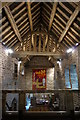 SK2478 : Padley Chapel, interior by Peter Barr