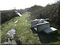 SP2967 : Flytipping off Coventry Road near Warwick by Robin Stott