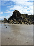 SM8513 : Seaward end of The Rain by Richard Law