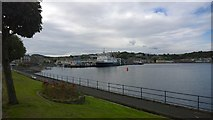 NS0964 : Rothesay and Rothesay Bay by Steven Haslington