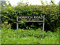 TM2890 : Norwich Road sign by Adrian Cable
