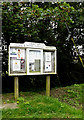 TM2888 : Denton Village Notice Board by Geographer