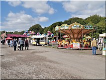 SD8203 : Fairground at Heaton Park by David Dixon