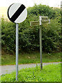 TM2887 : Roadsigns on Trunch Hill by Adrian Cable
