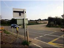 SW6138 : Gwinear Road Level Crossing by Roy Hughes