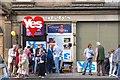 NT2540 : Referendum campaigning, Peebles High Street by Jim Barton