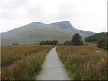 SH5752 : Path to Y Garn (Nantlle Ridge) by Gareth James