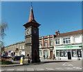 ST4071 : Diamond Jubilee Clock Tower in Clevedon by Jaggery