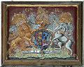 TG3225 : St Nicholas, Dilham - Royal Arms by John Salmon
