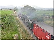 SH5840 : WHR near Porthmadog by Gareth James