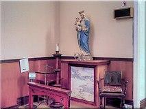 SJ7996 : St Antony's Church - Inside the Tin Tabernacle (4) by David Dixon