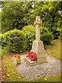 SJ7996 : War Memorial at St Antony's Church by David Dixon