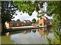 SP6459 : Nether Heyford, High House Wharf by Mike Faherty