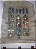 SD9772 : St. Mary, Kettlewell: stained glass window (b) by Basher Eyre