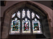 SD9772 : St. Mary, Kettlewell: stained glass window (f) by Basher Eyre