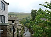 SD9772 : Looking west-southwest along Kettlewell Beck by Basher Eyre