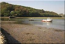 SX2553 : West Looe River by Derek Harper