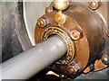 SD7922 : Steam Engine (Close Up) at Haslingden Grane Mill by David Dixon