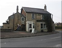 ST8080 : Fox and Hounds, Acton Turville by Roger Cornfoot