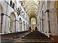 SU8504 : The Nave, Chichester Cathedral by Derek Voller