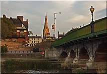 SK7954 : Trent Bridge, Newark by Paul Harrop