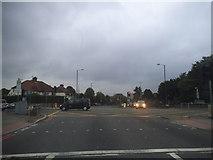TQ1979 : The North Circular at the junction of Popes Lane by David Howard