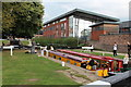 SO8453 : Diglis Bottom Lock by Oast House Archive