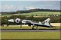 NS3726 : Avro Vulcan XH558 landing at Glasgow Prestwick Airport by Walter Baxter