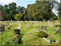 TQ0481 : Graveyard, Iver by Robin Webster