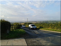 SW9775 : Traffic on the B3314, looking south by Rob Purvis