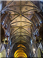 SO8554 : Ceiling, Worcester Cathedral by William Starkey