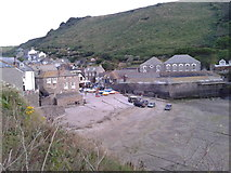 SW9980 : Port Isaac harbour by Rob Purvis