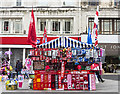 SJ3490 : Street kiosk by William Starkey