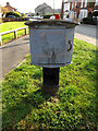 TM3863 : St.John's Road Royal Mail Dump Box by Adrian Cable