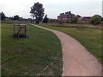 SJ2929 : Oswald's Trail, Oswestry by Jaggery