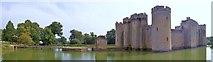 TQ7825 : Bodiam Castle Moat by Len Williams