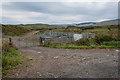 NM3852 : Cattle Pens near Crossapol by Tom Richardson
