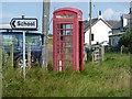 NL9747 : Cornaig: red telephone box by Chris Downer