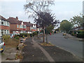 SP1279 : Bend in Welford Road, Shirley by Robin Stott