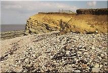 ST1444 : Cliffs at Kilve by Derek Harper