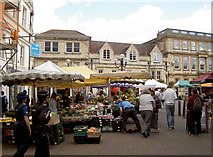 ST8558 : Market day in Trowbridge by Neil Owen