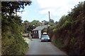 SW9947 : Cornish lane by Robert Ashby