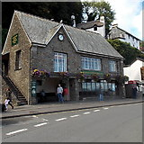 SS7249 : Lynmouth Flood Memorial Hall by Jaggery