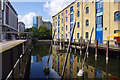 TQ4080 : Warehouse W, Royal Victoria Dock by Ian Taylor