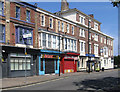 NZ5132 : Hartlepool - east end of Church Street by Dave Bevis