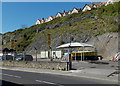 ST4071 : Cliffside car wash in Clevedon by Jaggery