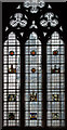 SK7053 : Stained glass window, Chapter House, Southwell Minster by J.Hannan-Briggs