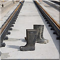 SK5236 : Trackboots by Alan Murray-Rust
